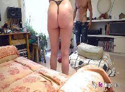 Madura fazendo sexo com amante no apartamento